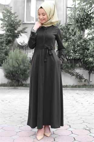0a1350fae12ca Günlük Tesettür Elbise Modelleri - Moda Tesettür Giyim