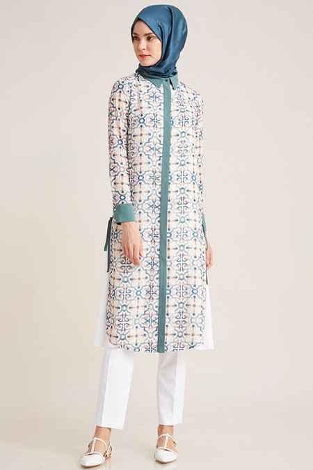 Kayra Çini Desen Tunik Modelleri