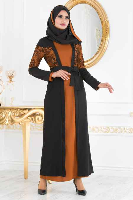 Nayla Collection Tesettür Şık Abaya Modelleri