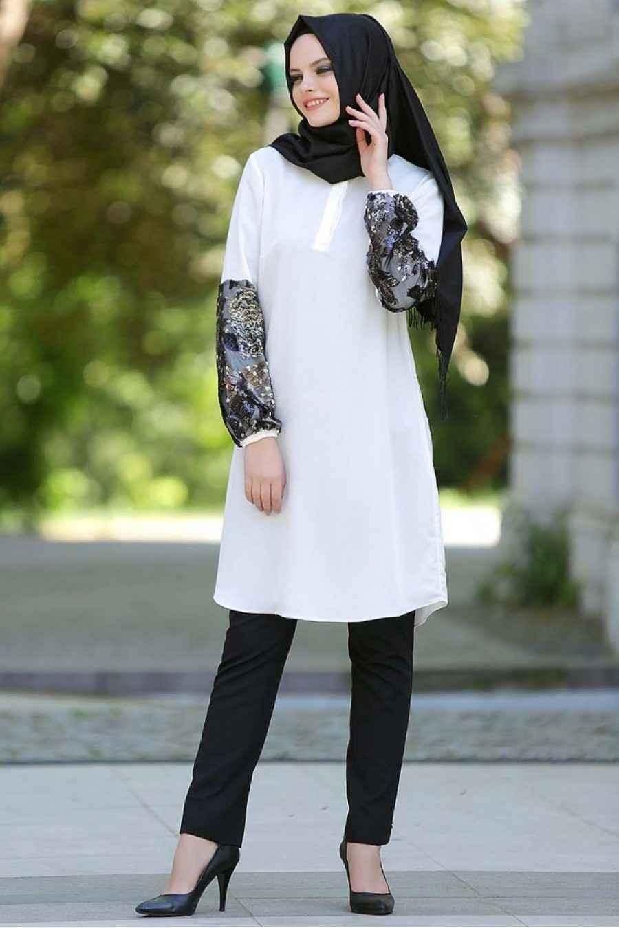 Nayla Collection Tesettür Tunik Modelleri
