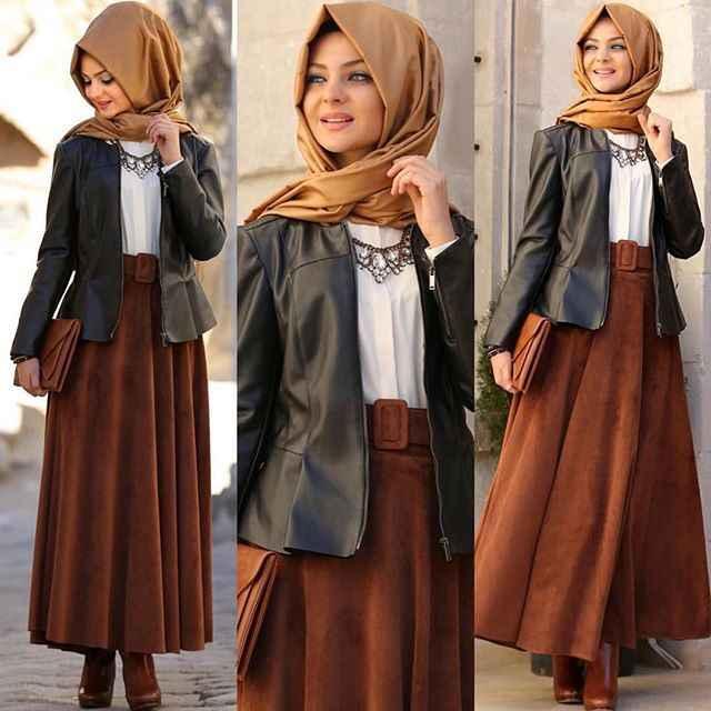 Pınar Şems Şık Deri Ceket Kombinleri
