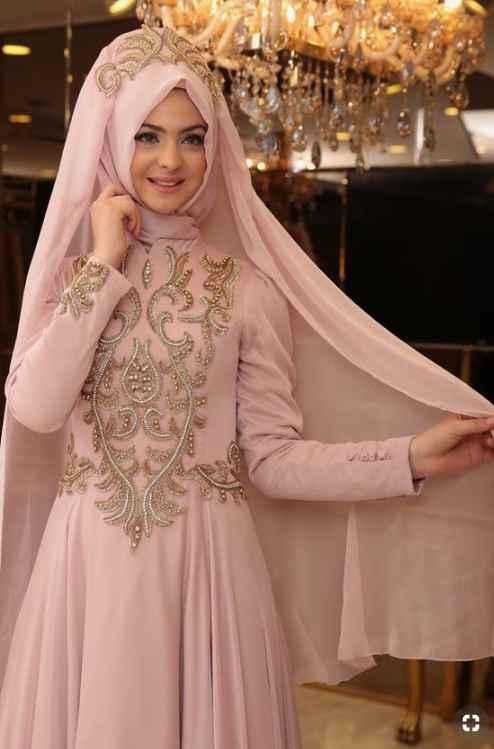 Pınar Şems 2019 Tesettür Abiye Modelleri