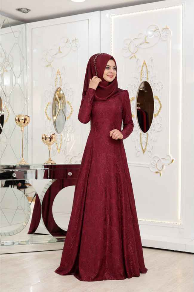 Pınar Şems Duru Tesettür Elbise Modelleri