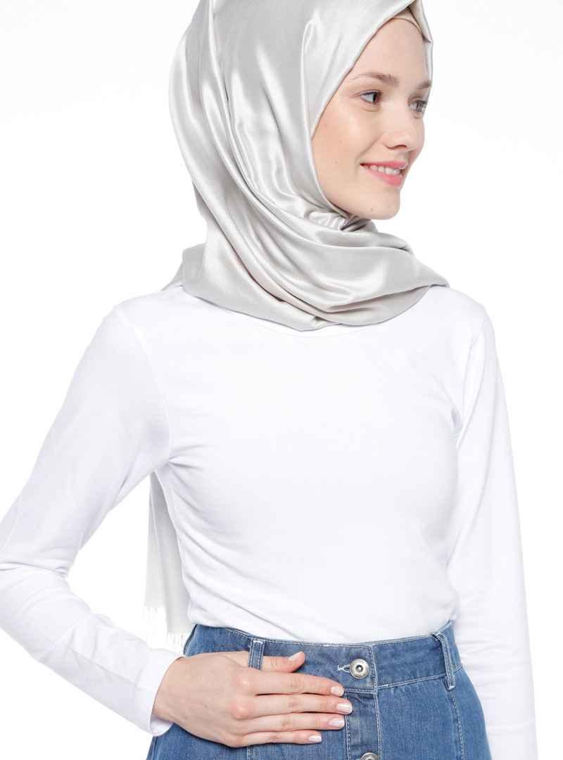 Sprout Tesettür Beyaz Body Modelleri