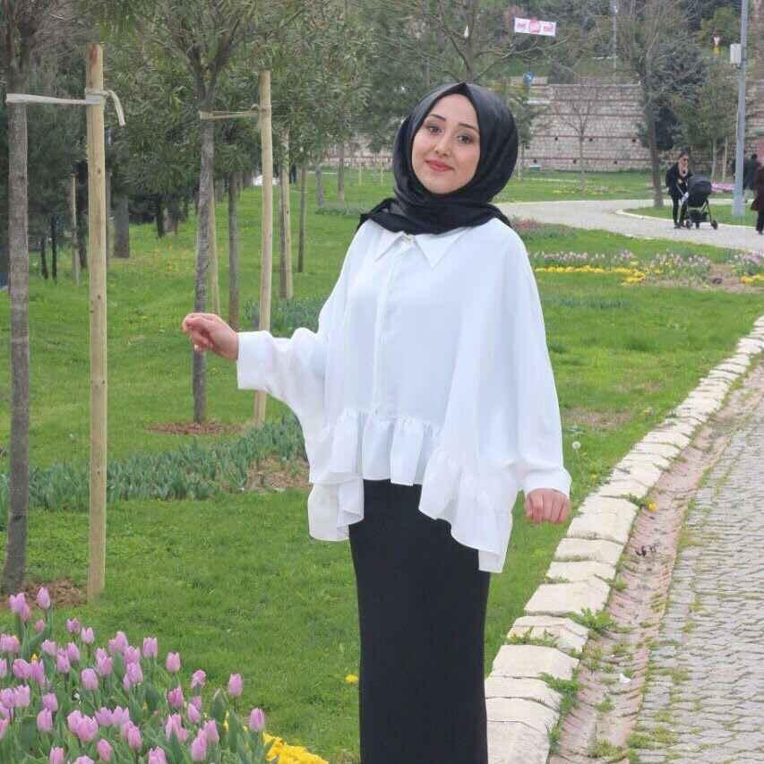 Tesettür Yarasa Kol Bluz Modelleri