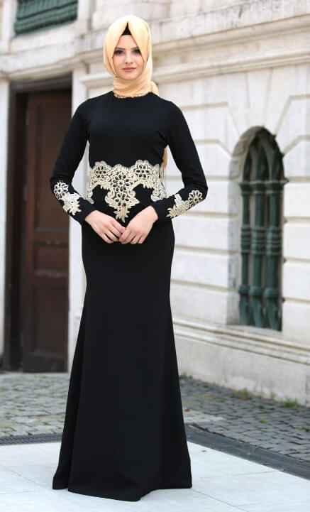 Şık Neva Style Tesettür Abiye Elbise Modelleri