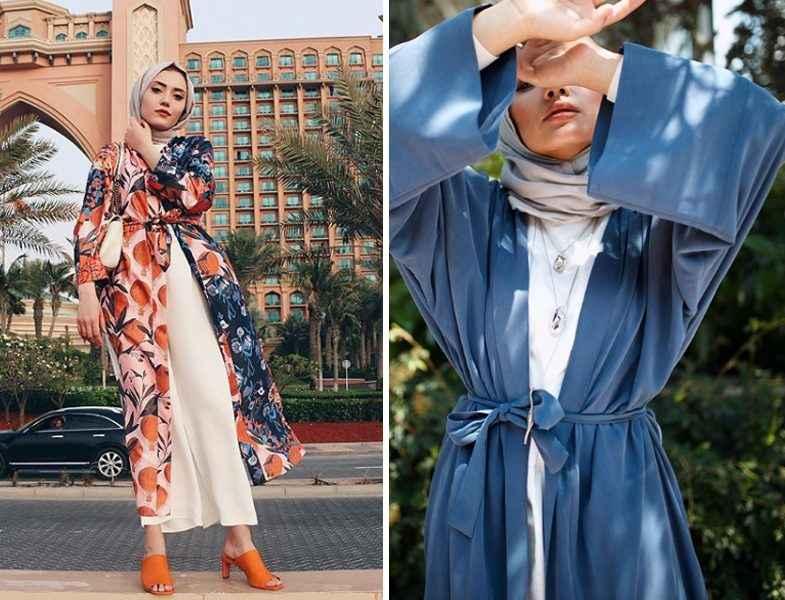Şık Tesettür Kimono Modelleri