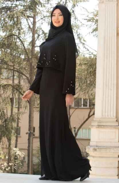 2018 Neva Style Tesettür Abiye Elbise Modelleri