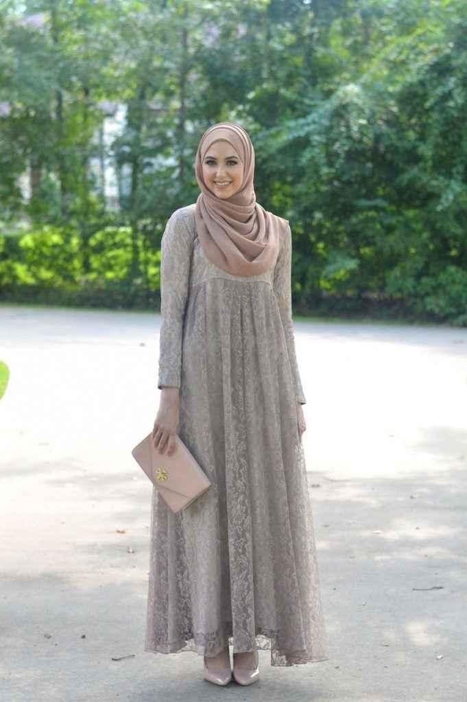 2018 Tesettür Hamile Abiye Elbise Modelleri