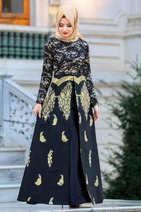 8883b25e4d43d Aysha 2019 Tesettür Abiye Elbise Modelleri - Moda Tesettür Giyim