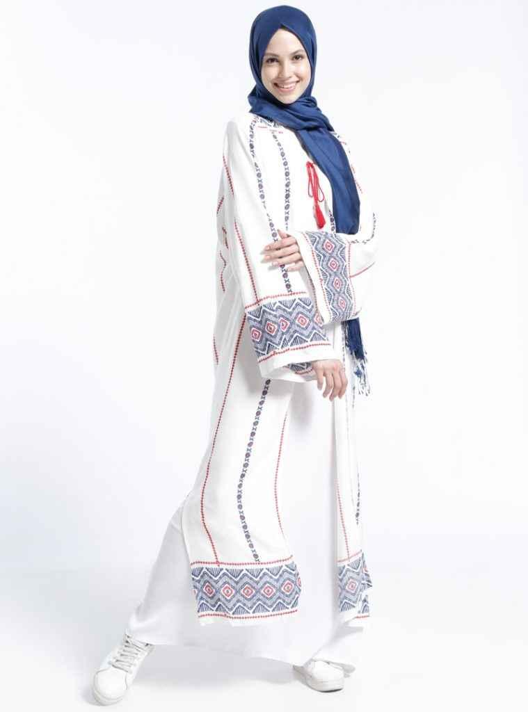 Benin Tesettür Kimono Modelleri