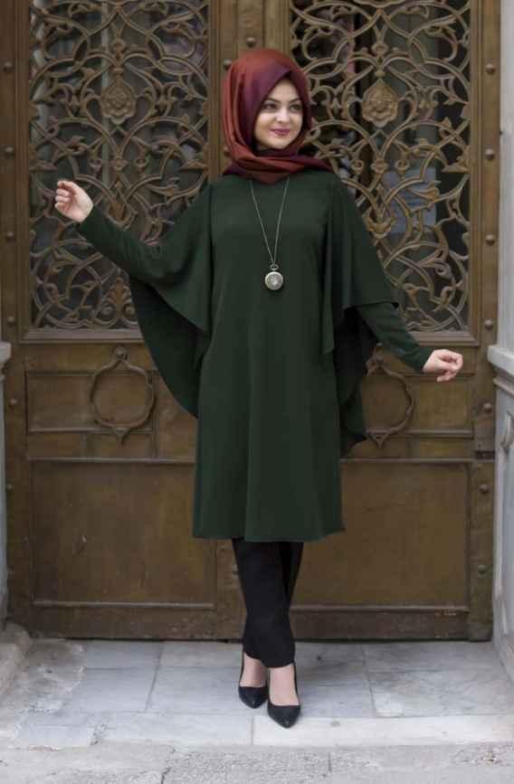 En Şık Pınar Şems Yarasa Kol Tunik Modelleri