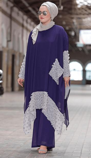 En Güzel 2019 Tesettür Ferace Modelleri