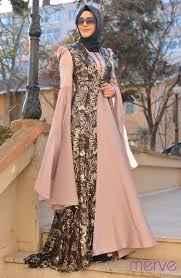 En Güzel Sefamerve Tesettür Hürrem Abiye Elbise Modelleri