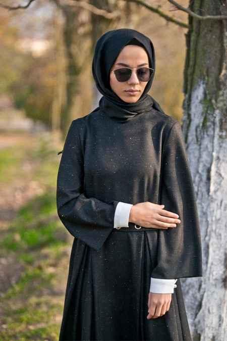 Lavinia Couture Tesettür Yün Elbise Modelleri