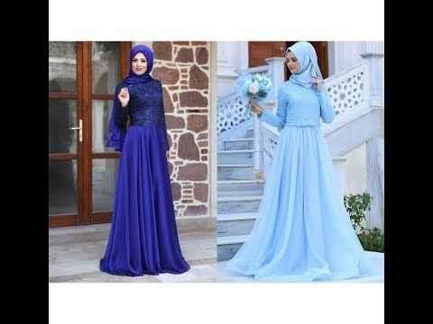 Mavi Renk Tesettür Modası