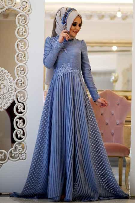 Minel Aşk Şık Tesettür Elbise Modelleri