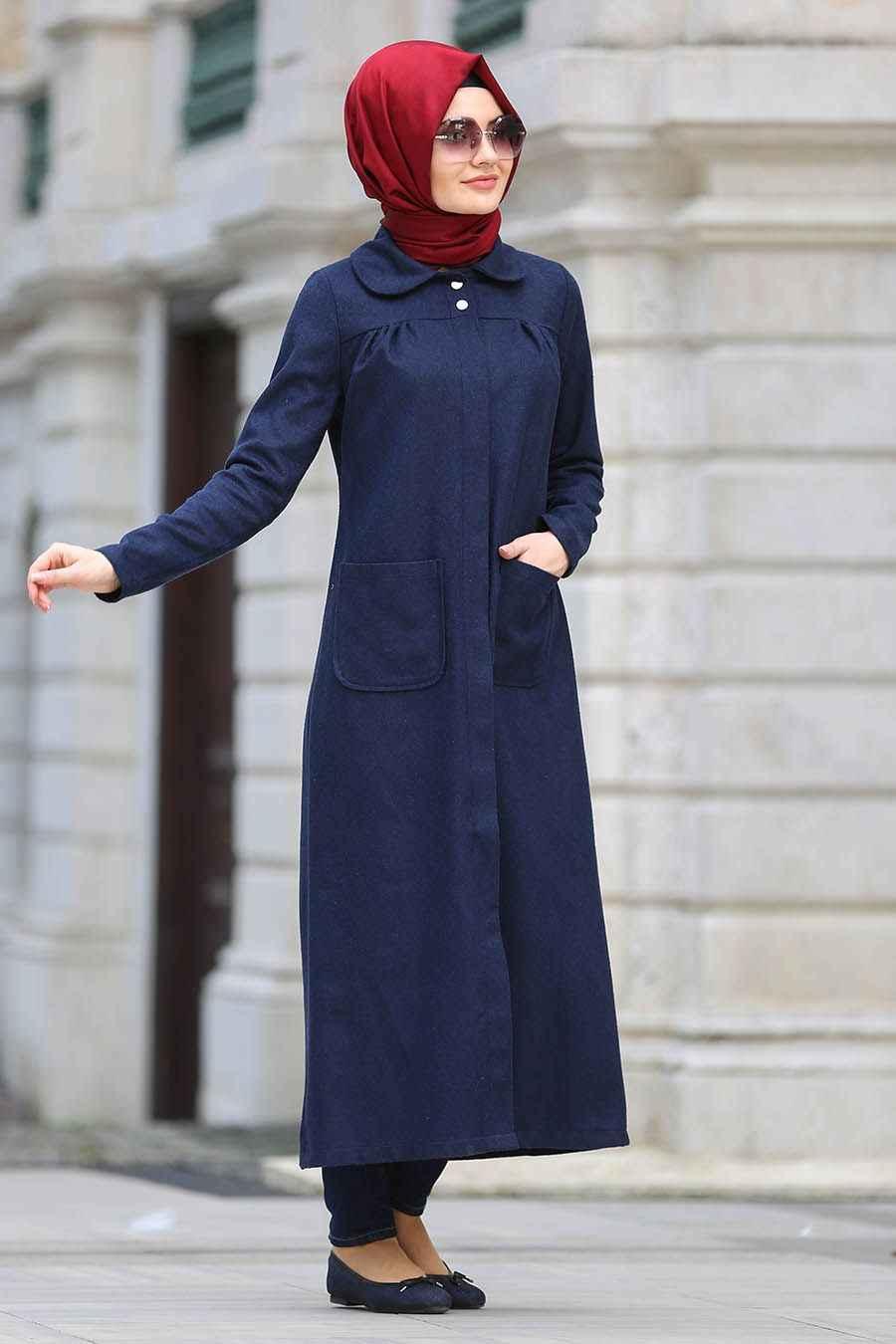 Neva Style 2018-2019 Tesettür Kaban Modelleri