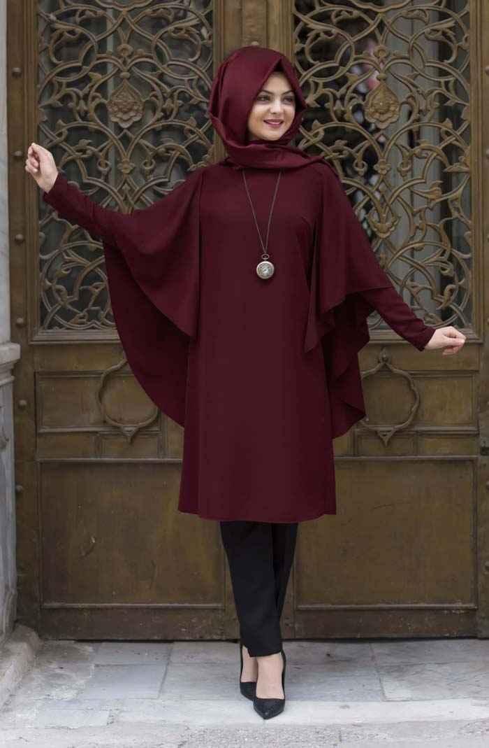 Pınar Şems Yarasa Kol Tunik Modelleri