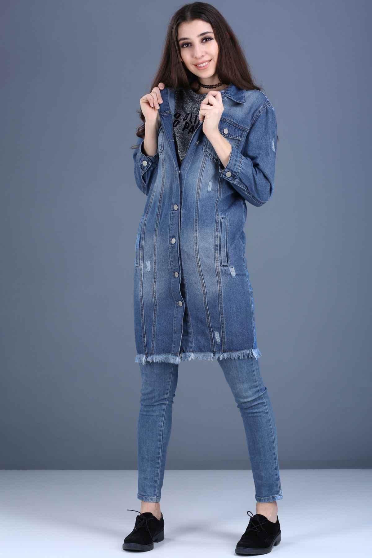 Patırtı Kot Ceket Modelleri