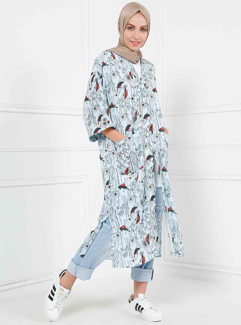 Refka Tesettür Kimono Modelleri