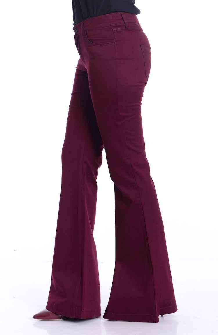 Sefamerve İspanyol Paça Pantolon Modelleri