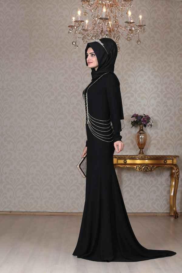 Sema Şimşek Zincirli Abiye Elbise Modelleri