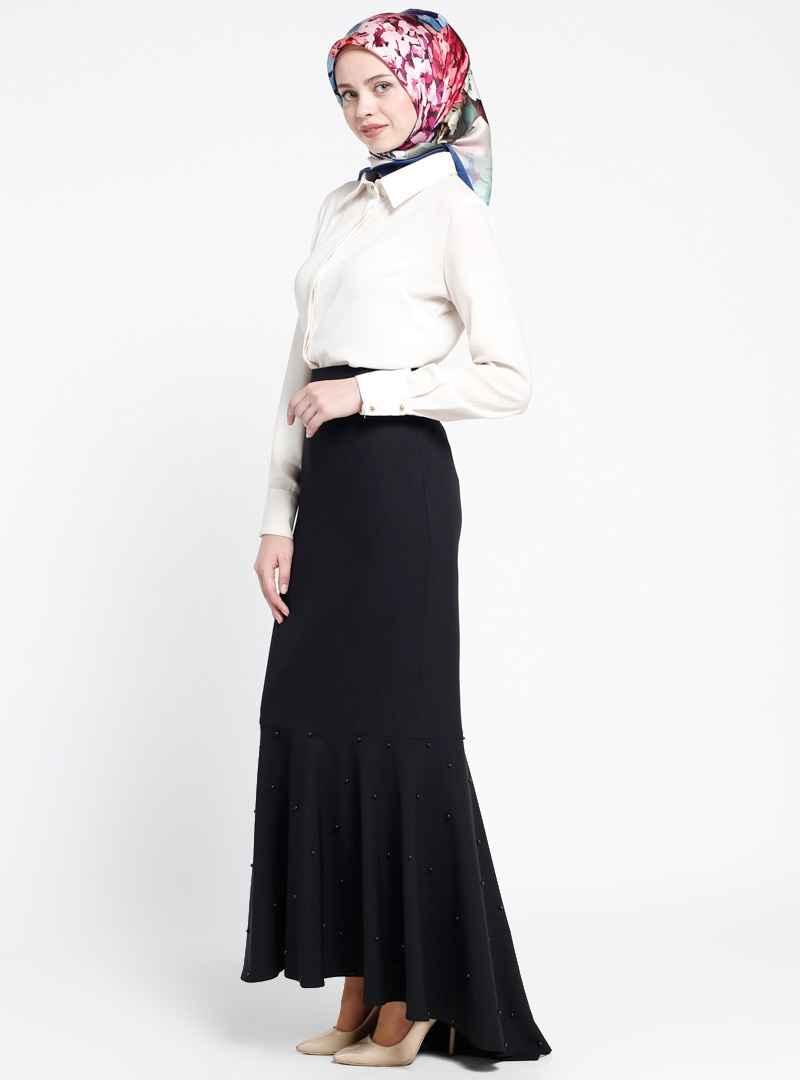 Sevilay Giyim Tesettür Uzun Etek Kombinleri