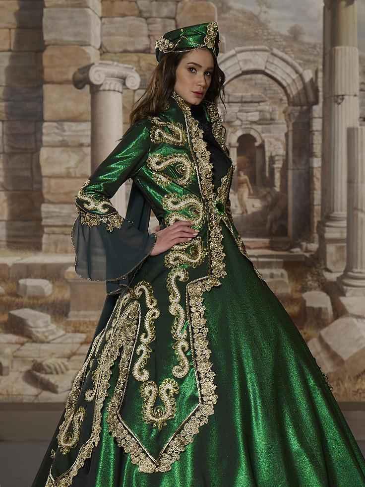 Tesettür Hürrem Sultan Abiye Modelleri