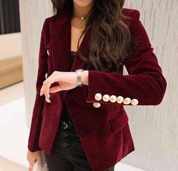 Kadife Bayan Ceket Modelleri