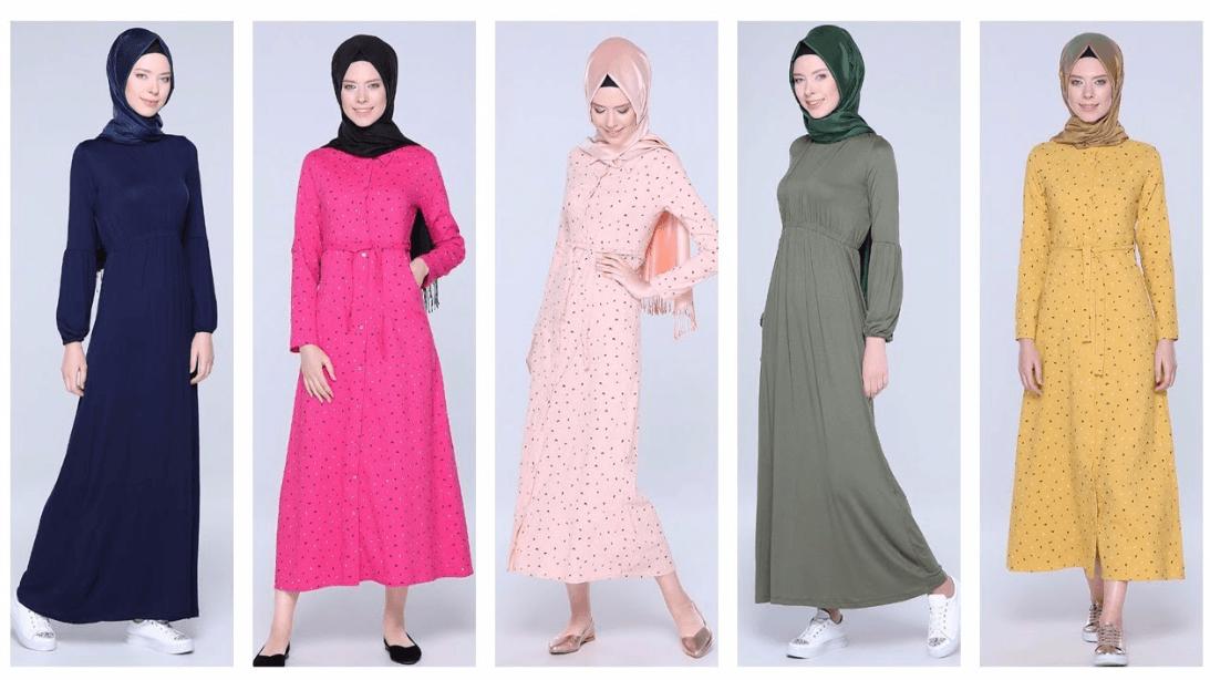 Tozlu 2019 Tesettür Tunik Modelleri