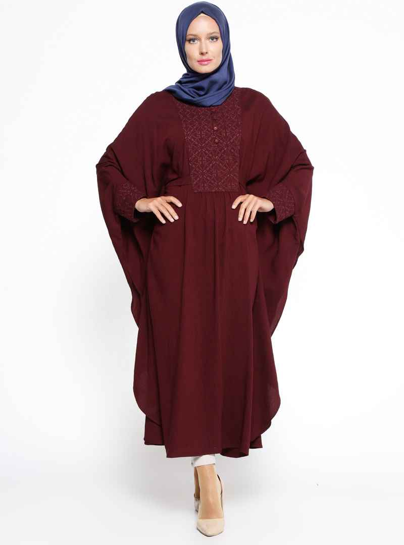 Tuğba Tesettür Yarasa Kol Tunik Modelleri