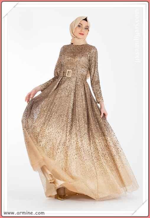 93a587569072d Yeni Sezon Tesettür Abiye Elbise Modelleri - Moda Tesettür Giyim