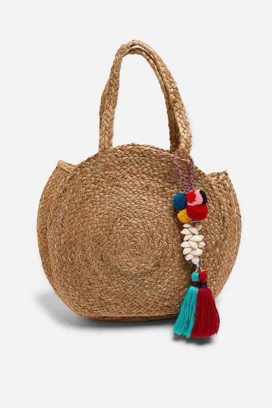 Zara Hasır Çanta Modelleri