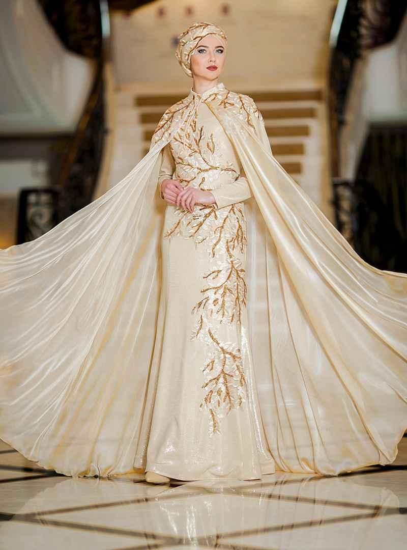 Zehrace Tesettür Gold Rengi Modası