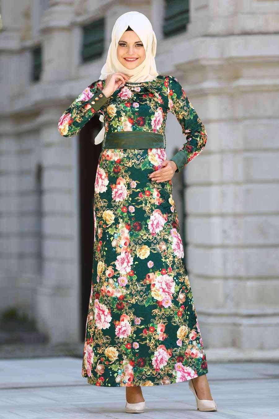 Şık ve Özel Neva Style Tesettür Elbise Modelleri