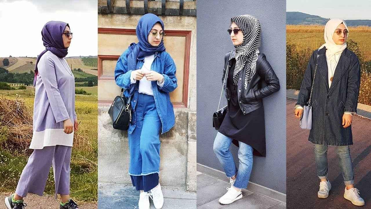 Şık ve Güzel Günlük Tesettür Kıyafet Kombinleri
