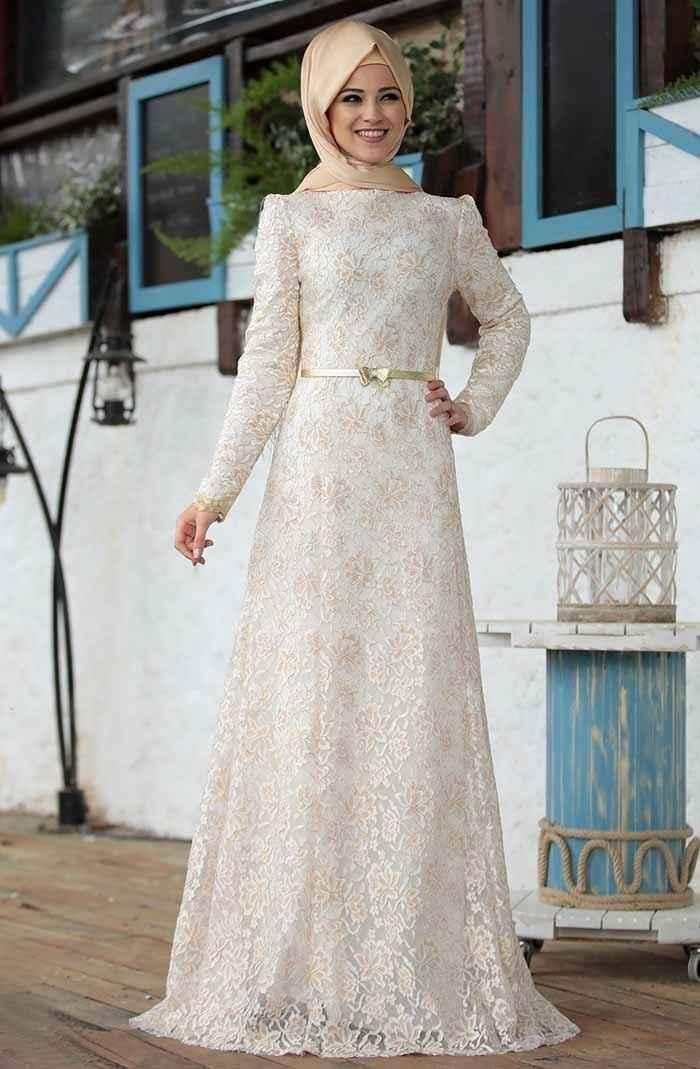 Al-Marah Öykü Dantel Abiye Elbise Modelleri