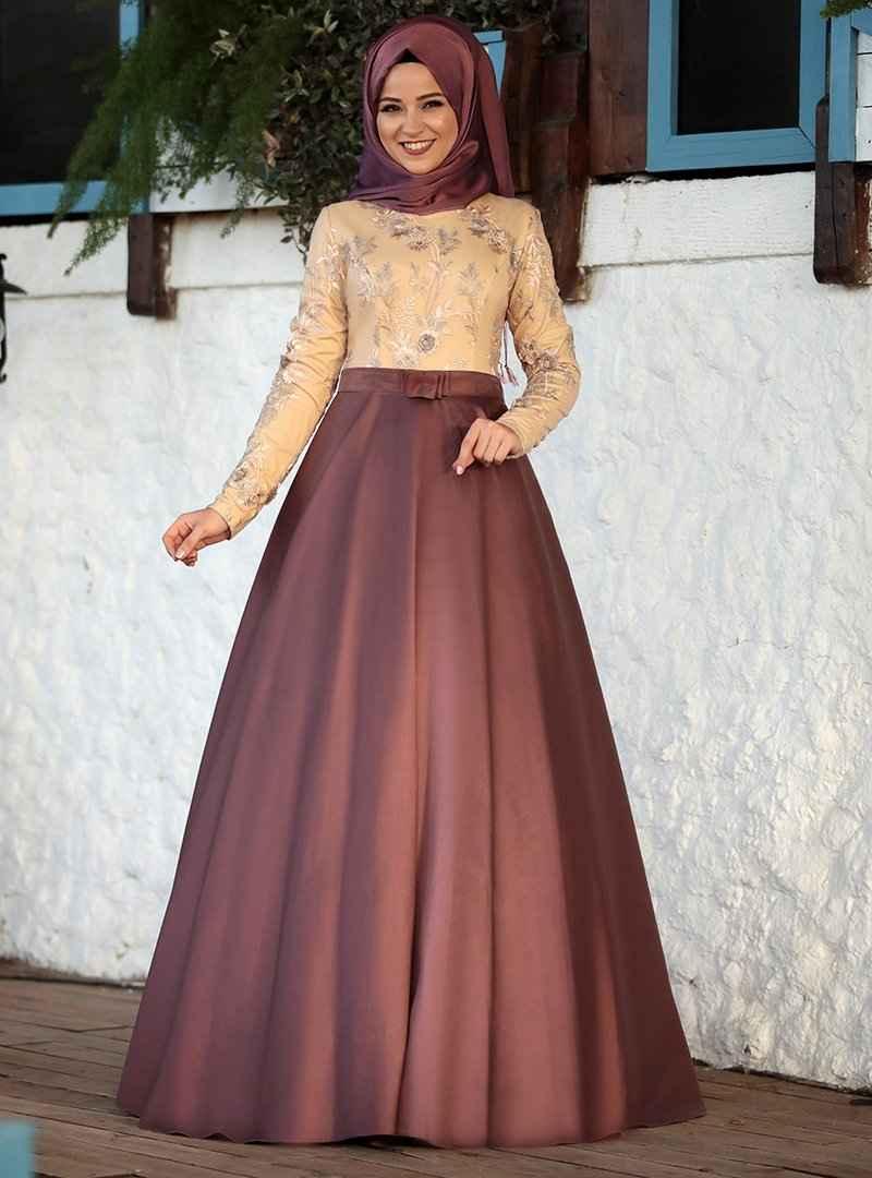Al-Marah Gül Kurusu Abiye Elbise Modelleri