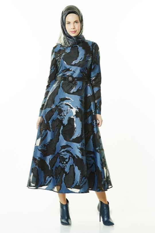 Armine Desenli Elbise Modelleri