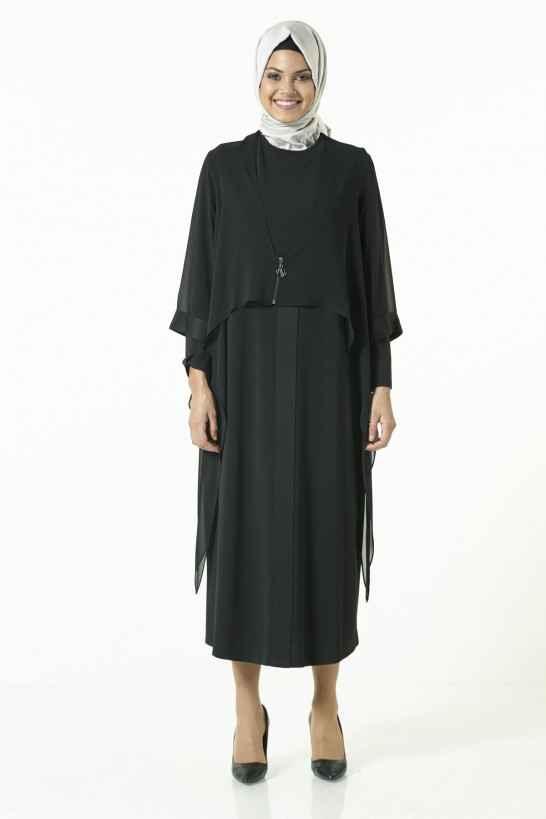Armine Parçalı Elbise Modelleri