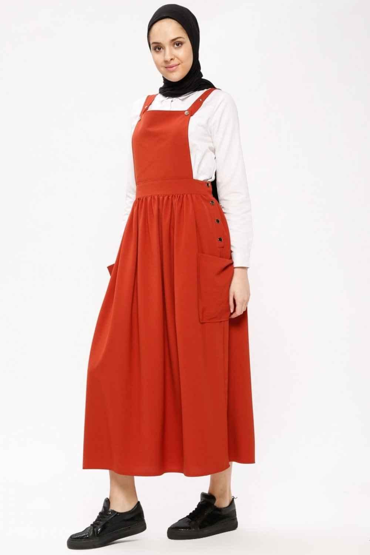Beha Tesettür Salopet Elbise Modelleri