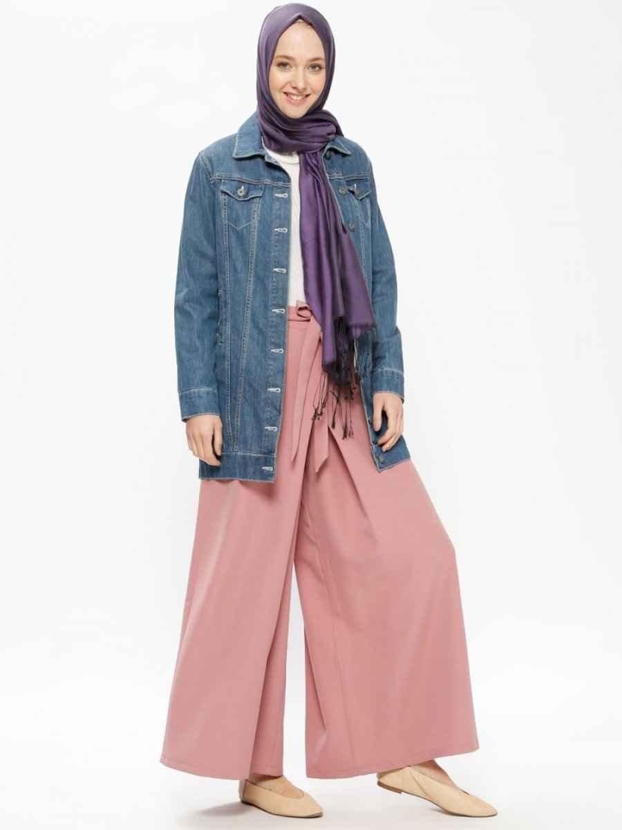 Beha Yüksek Bel Tesettür Pantolon Modelleri