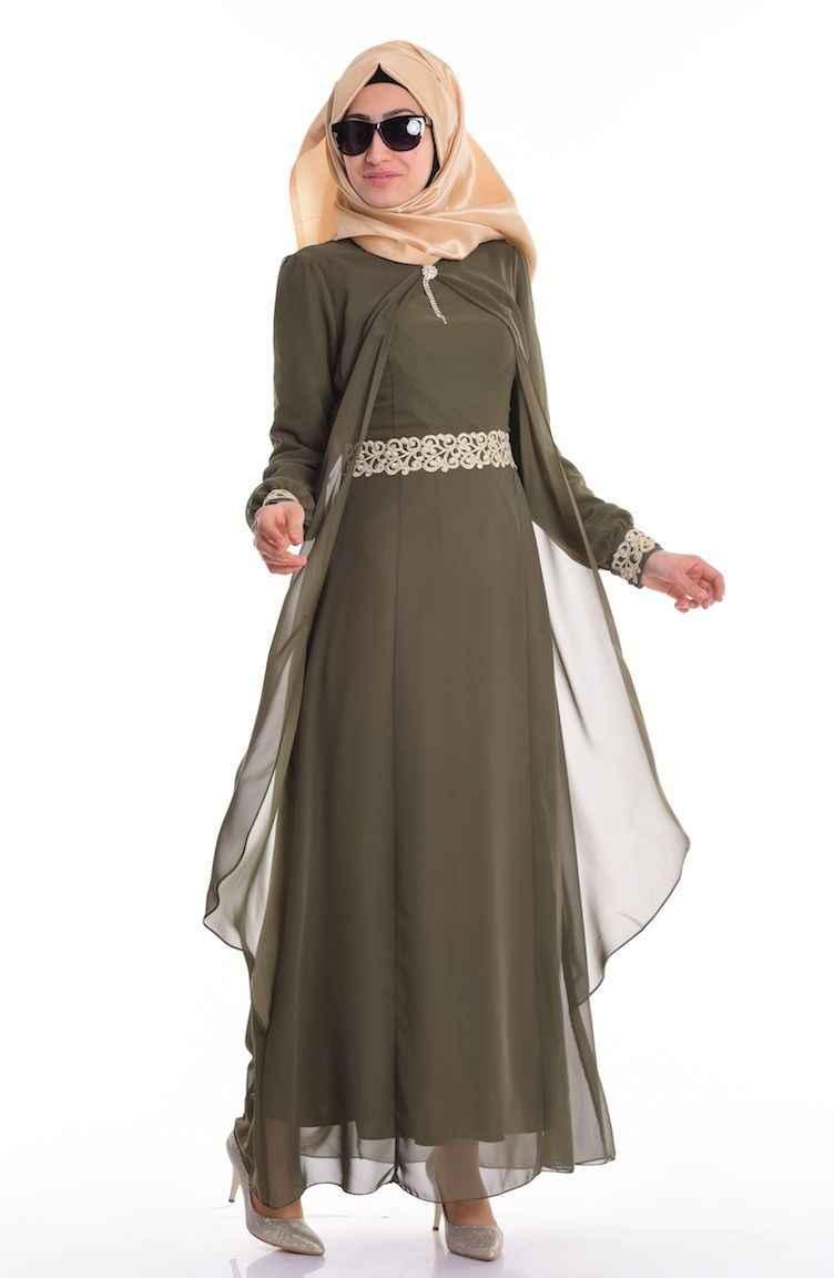 En Şık Sefamerve Tesettür Elbise Modelleri