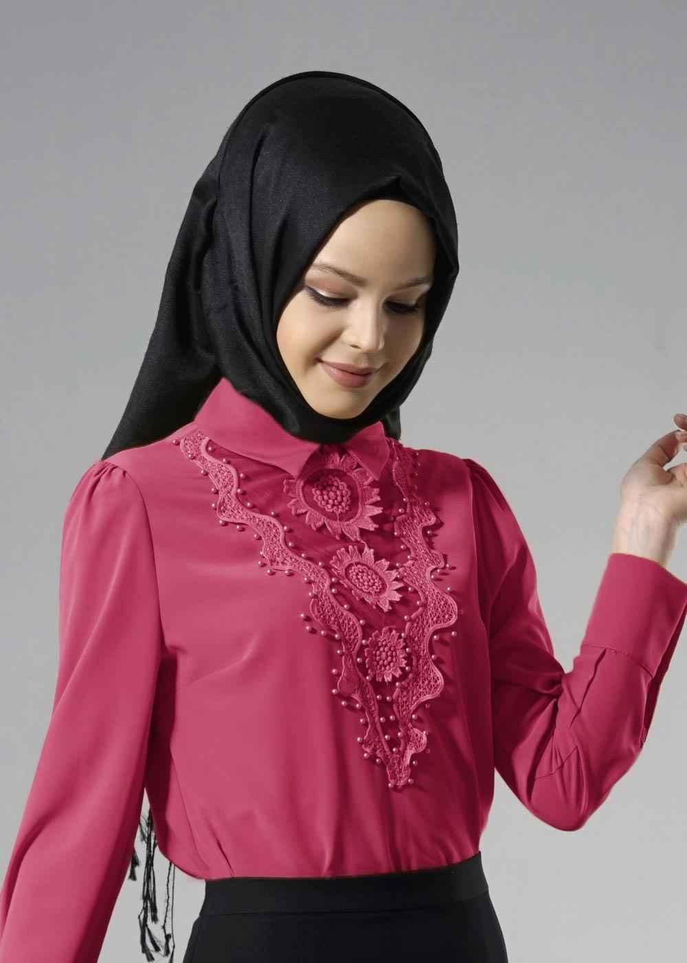 En Güzel Alvina Chriss Tesettür Bluz Modelleri