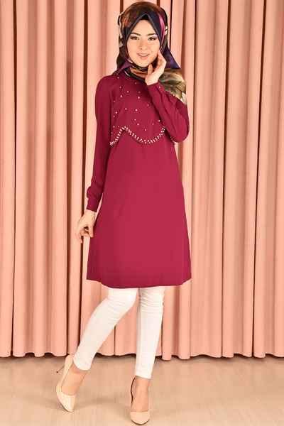 En Güzel Modamerve Tesettür Tunik Modelleri