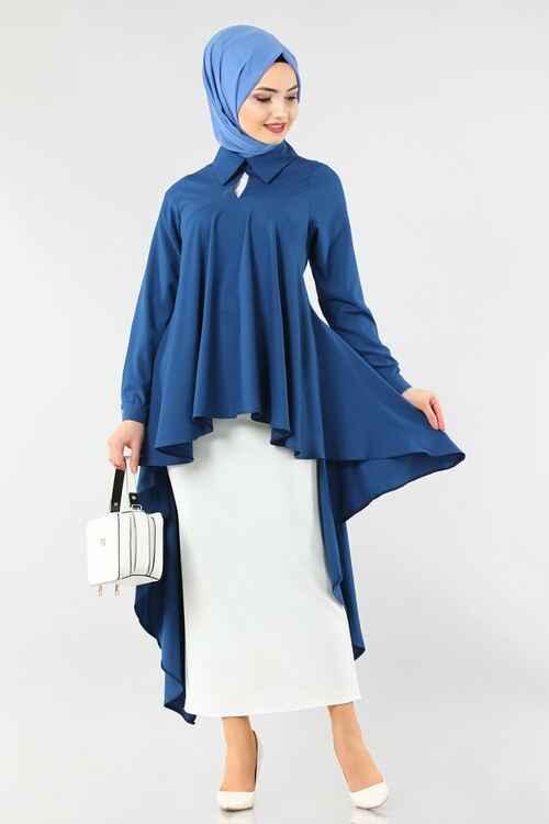 En Güzel Modaselvim Tesettür Bluz Modelleri