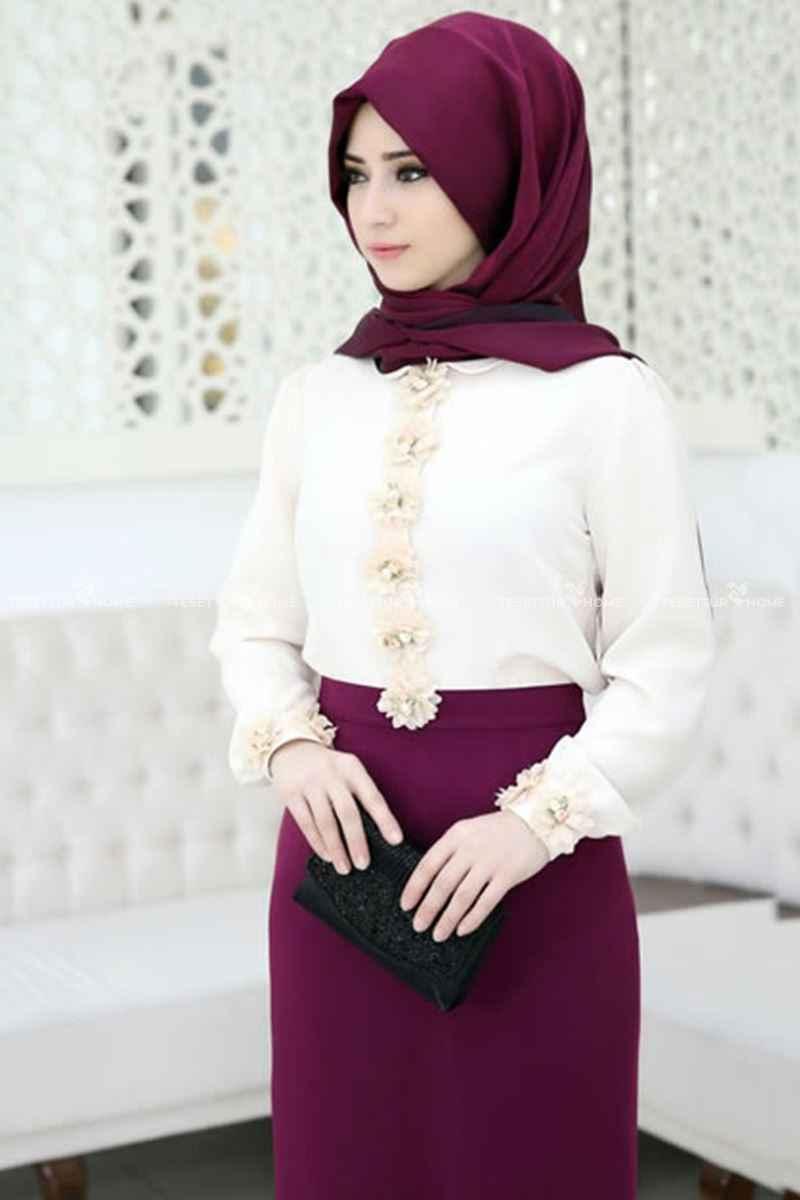 En Güzel Som Fashion Tesettür Bluz Modelleri