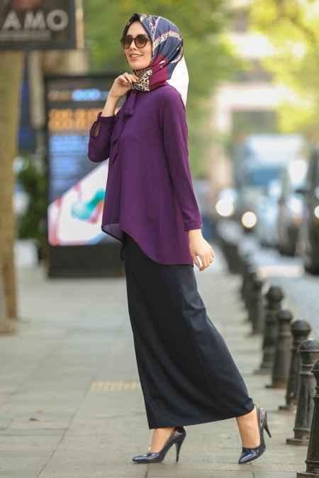 En Güzel Tesettür Nayla Collection Bluz Modelleri