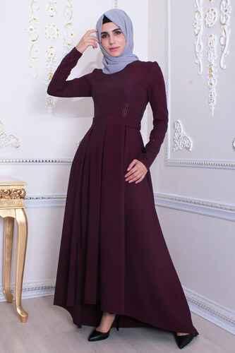 Feiza Collection Tesettür Asimetrik Kesim Elbise Modelleri